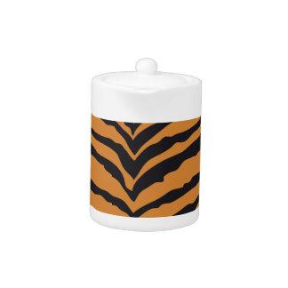 Tiger Print Teapot