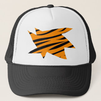 Tiger Print Trucker Hat