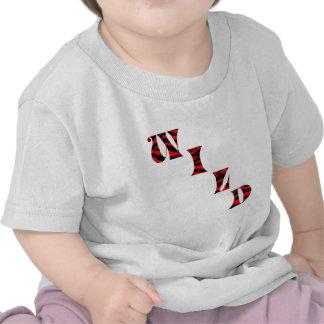 Tiger Print Wild Tee Shirts