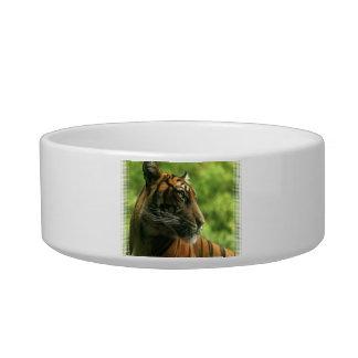 Tiger Profile Pet Bowl
