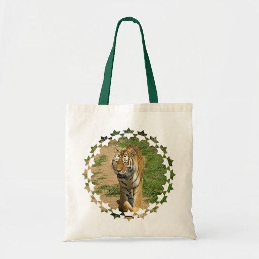 Tiger Prowl Small Tote Bag