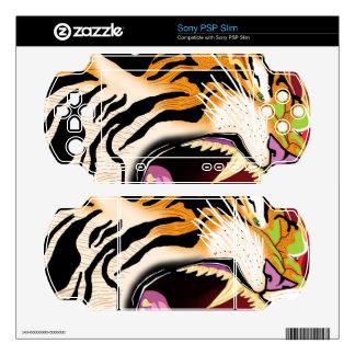 Tiger PSP Slim Skins