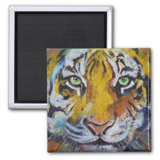 Tiger Psy Trance Magnet Refrigerator Magnet