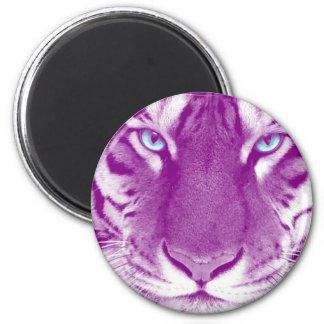 Tiger  Purple Magnet
