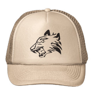 Tiger Raw Tigre Scratches Trucker Hat