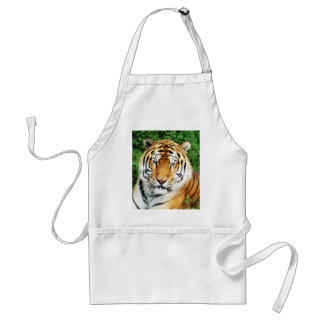 Tiger Relaxing Adult Apron