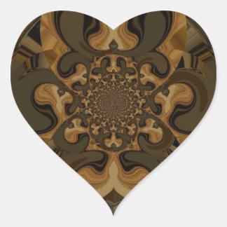 Tiger  Retro Graphics Hakuna Matata Gifts Heart Sticker