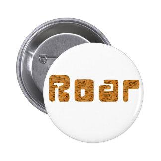 tiger roar 2 inch round button