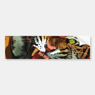 Tiger Roar Bumper Sticker