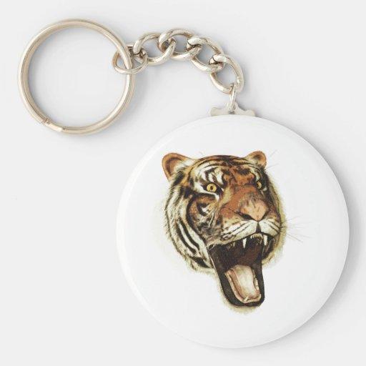 Tiger Roar Key Chain