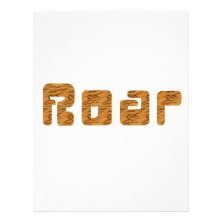 tiger roar letterhead