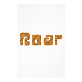 tiger roar stationery