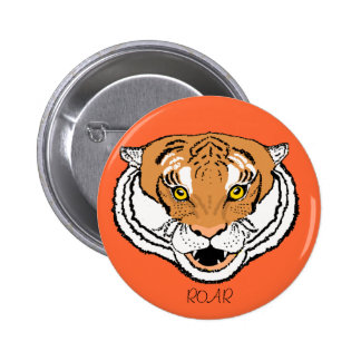 Tiger Roaring buttons add/change text