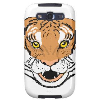 Tiger Roaring Samsung Galaxy S3 Cases