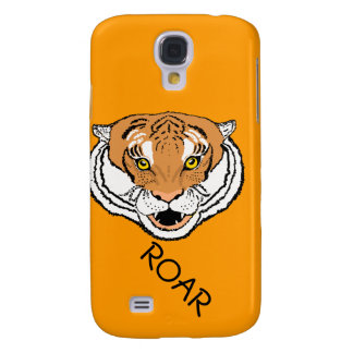 Tiger Roaring iPhone cases Samsung Galaxy S4 Cases
