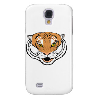 Tiger Roaring iPhone cases. Full face or close up. Samsung Galaxy S4 Covers