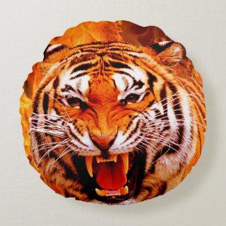 Tiger Round Pillow
