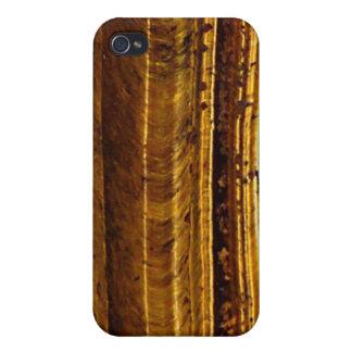 Tiger s Eye Art Speck iPhone 4 Case