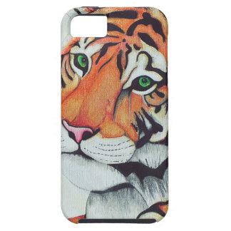 Tiger (Sad Eyes) - Kimberly Turnbull Art iPhone 5 Cases
