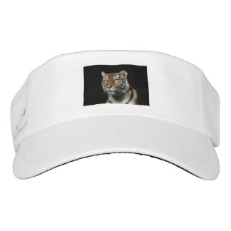 tiger safari jungle stripes print animals visor
