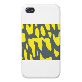 Tiger Salamander Scale Pattern iPhone 4/4S Covers