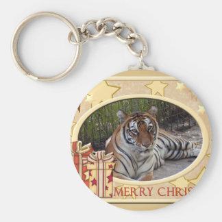 Tiger Sarmoti-c-148 copy Basic Round Button Keychain