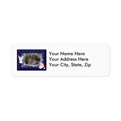 Tiger Sarmoti-c-21 copy Return Address Label