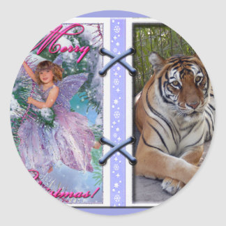 Tiger Sarmoti-c-45 copy Classic Round Sticker