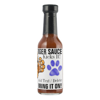 TIGER SAUCE Hot Sauce 2 - Blue Paw