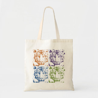 tiger save the tigers budget tote bag