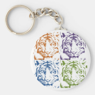 tiger save the tigers keychain
