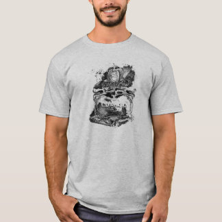 tiger scheffland black white t T-Shirt