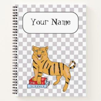 Tiger School Notebook