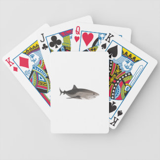 TIGER SHARK BICYCLE PLAYING CARDS