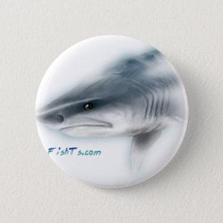 Tiger Shark Head Button