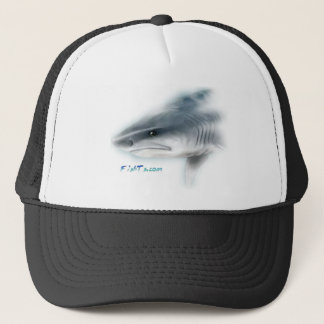 Tiger Shark Head Trucker Hat
