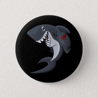 Tiger Shark! Pinback Button
