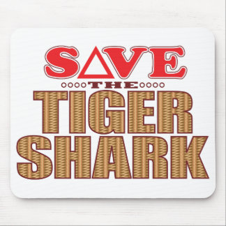 Tiger Shark Save Mouse Pad