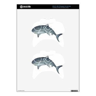 Tiger shark xbox 360 controller skins