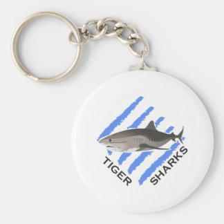 TIGER SHARKS KEYCHAINS