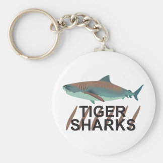 TIGER SHARKS KEY CHAINS