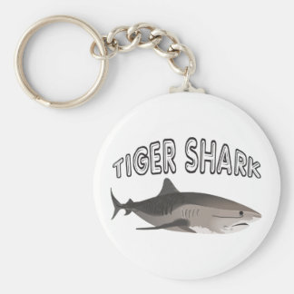 TIGER SHARKS KEYCHAIN