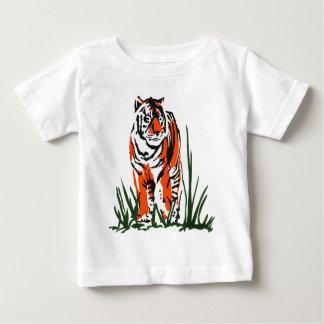 Tiger Silkscreen Baby T-Shirt