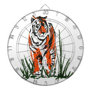 Tiger Silkscreen Dartboard