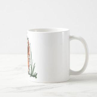 Tiger Silkscreen Coffee Mug