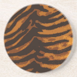 Tiger Skin Coaster