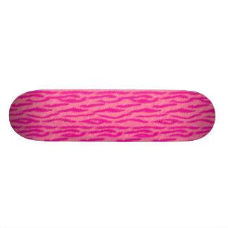 Tiger Skin Deck Neon Pink