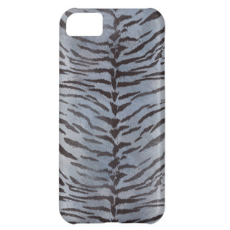 Tiger Skin in Blue Slate iPhone 5C Covers