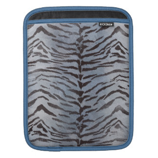 Tiger Skin in Blue Slate Sleeves For iPads