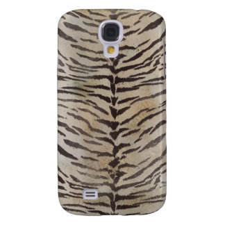 Tiger Skin in ivory Samsung Galaxy S4 Cover